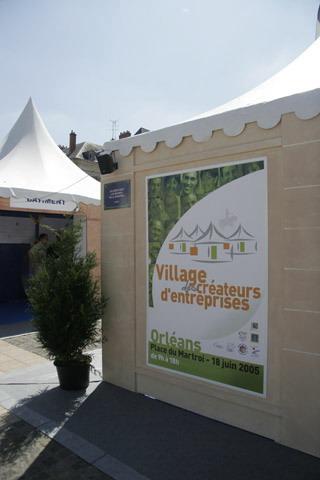 sonorisation village des createursd 39 entreprises orleans juin 2005. Black Bedroom Furniture Sets. Home Design Ideas
